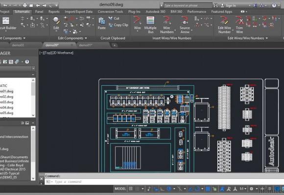 اتوکد الکتریکال  AutoCAD Electrical چیست ؟ و چه امکاناتی دارد؟